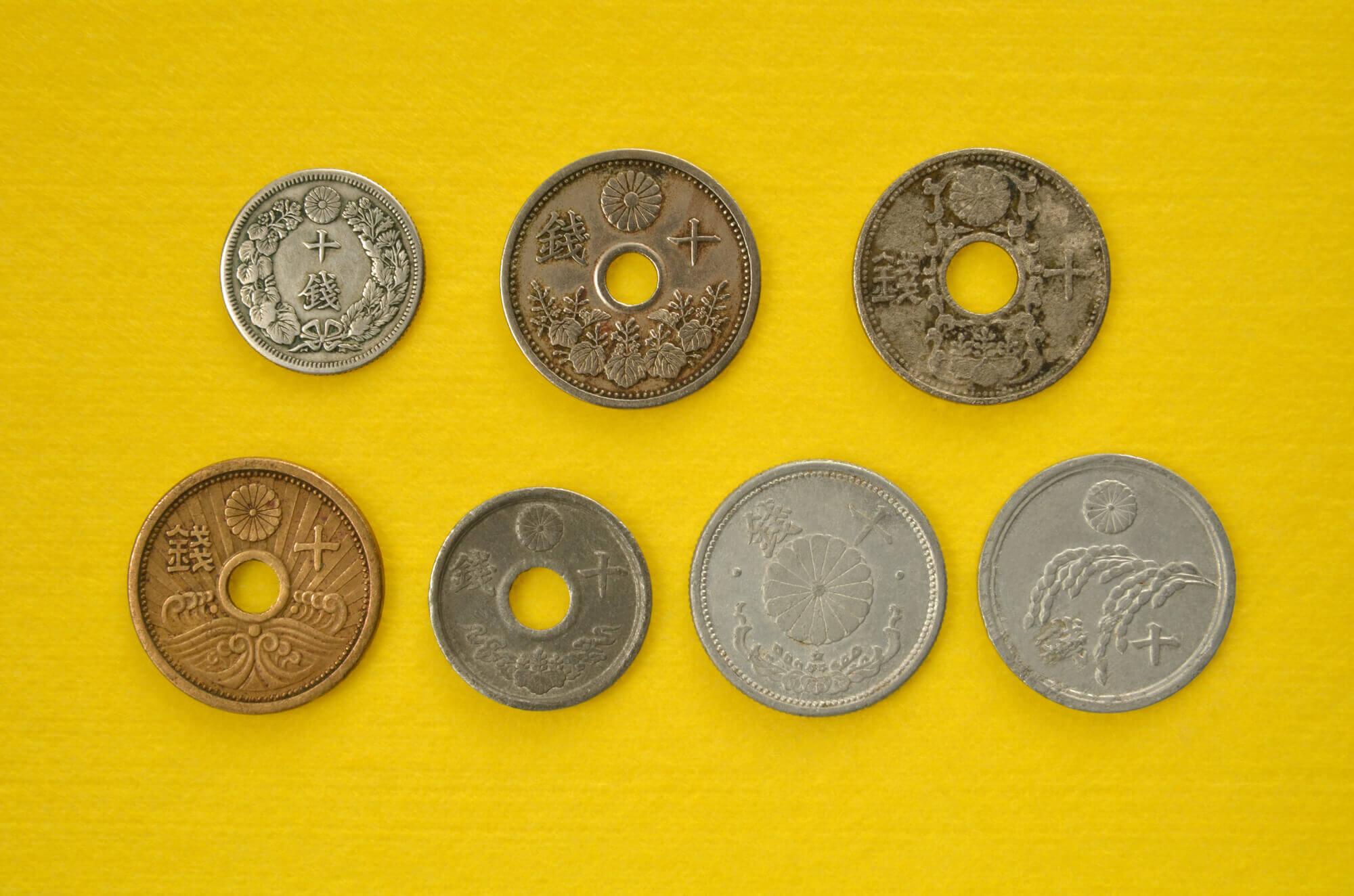 古銭買取の相場や価格はどれくらい?古銭を高く売るためのポイントについて
